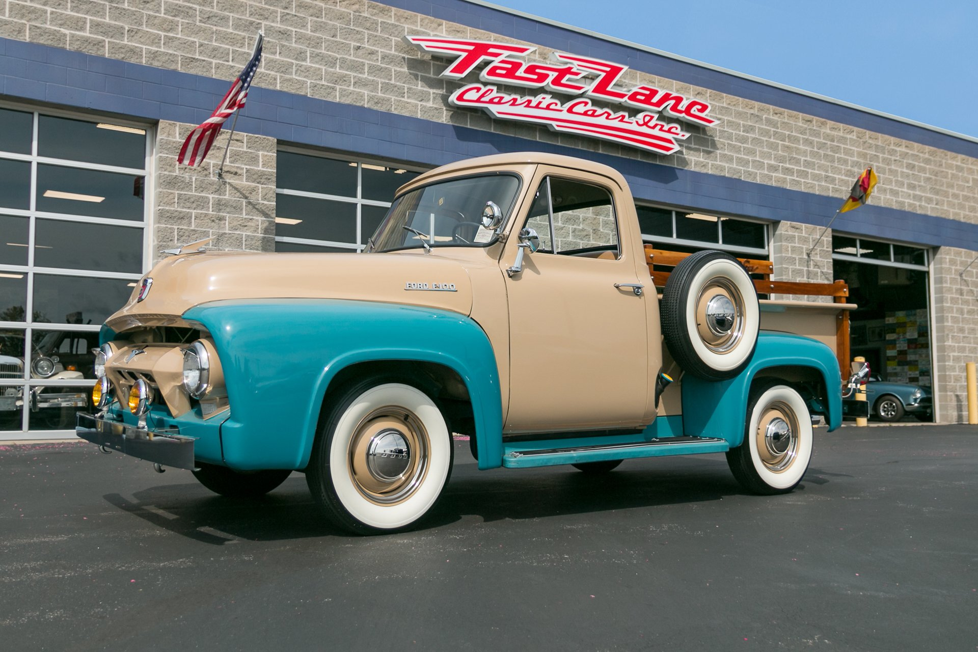 1954 Ford F100 Fast Lane Classic Cars 1955 Panel Truck