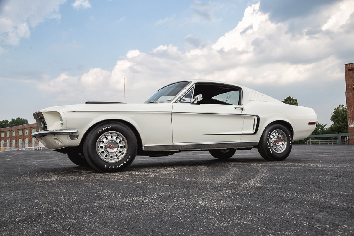1968 ford mustang gt r code