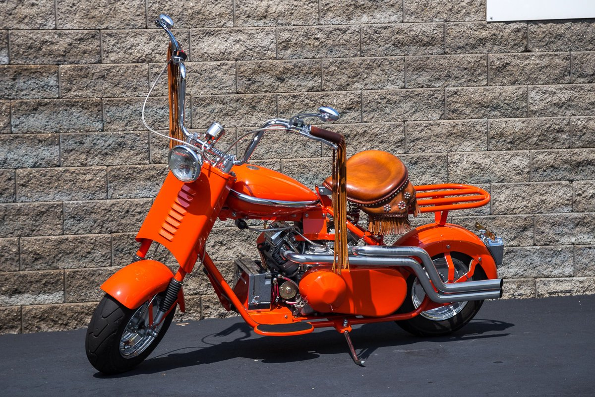 1956 cushman eagle custom