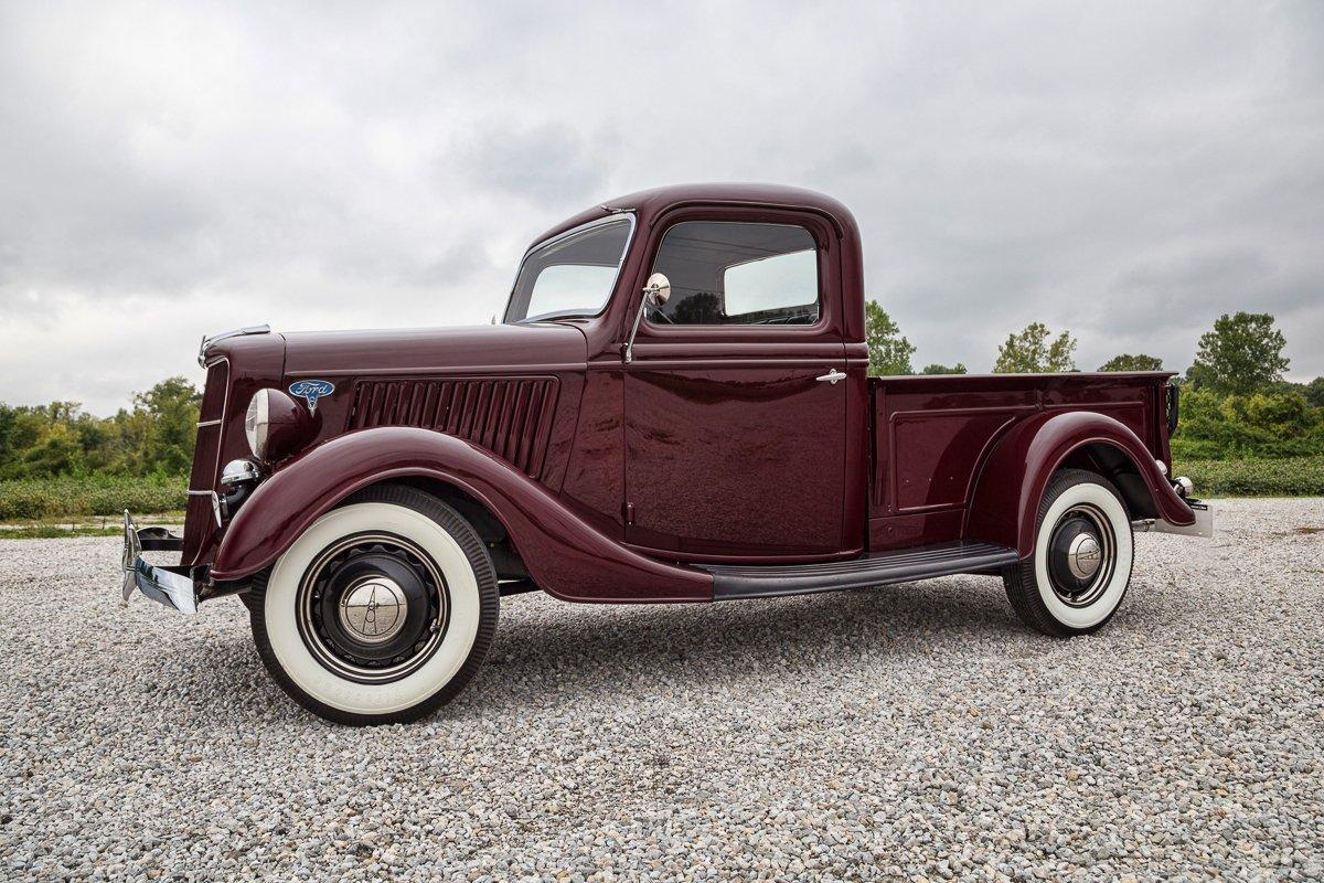 1936 ford 1 2 ton