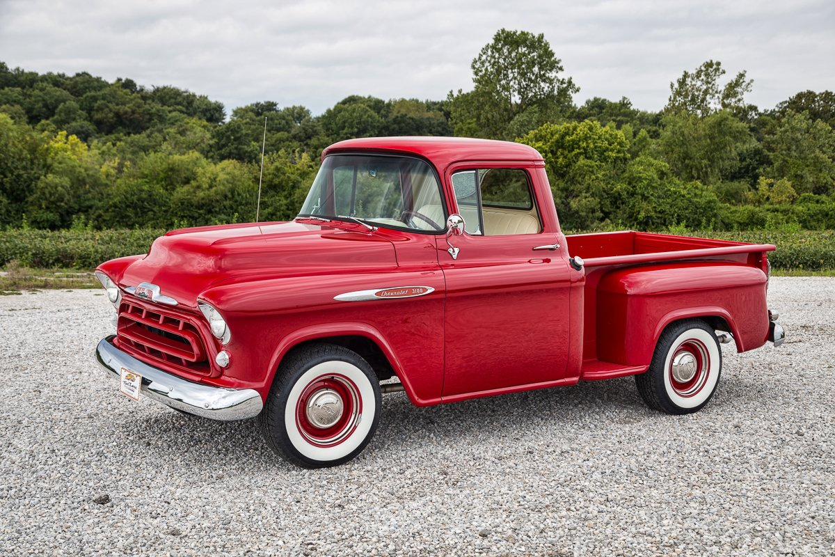 1957 chevrolet 3100 stepside