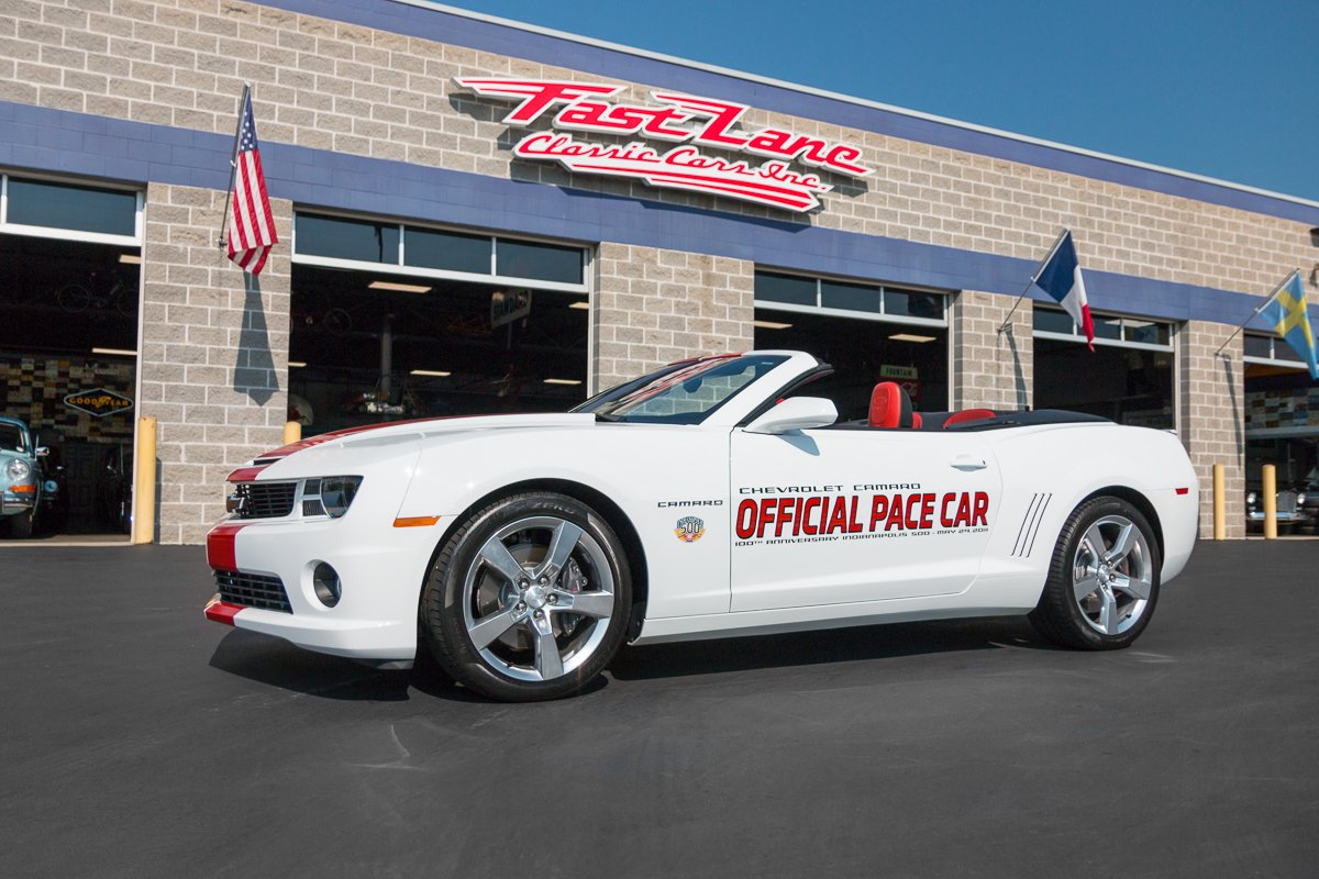 2011 chevrolet camaro pace car