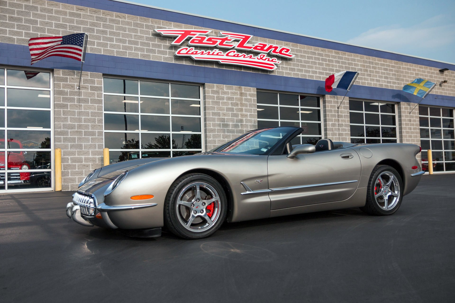 2001 chevrolet corvette commemorative edition
