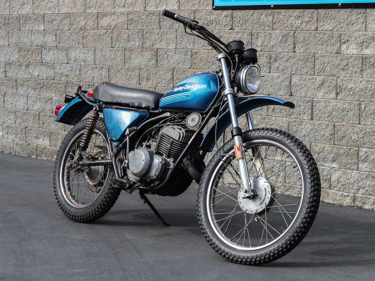 1976 harley davidson sx250
