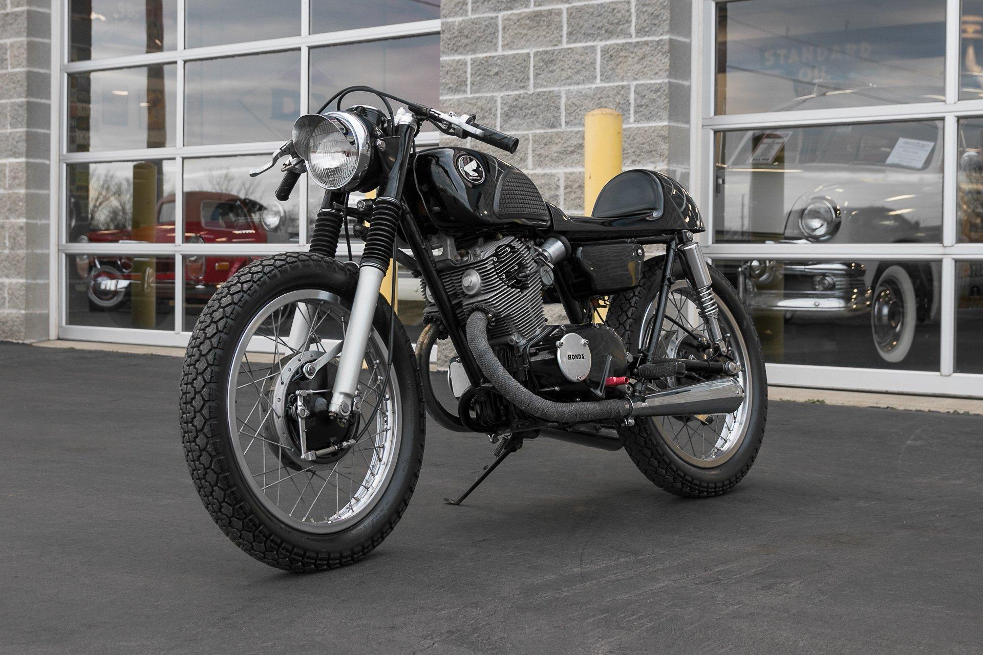 1966 honda cl77 scrambler 305