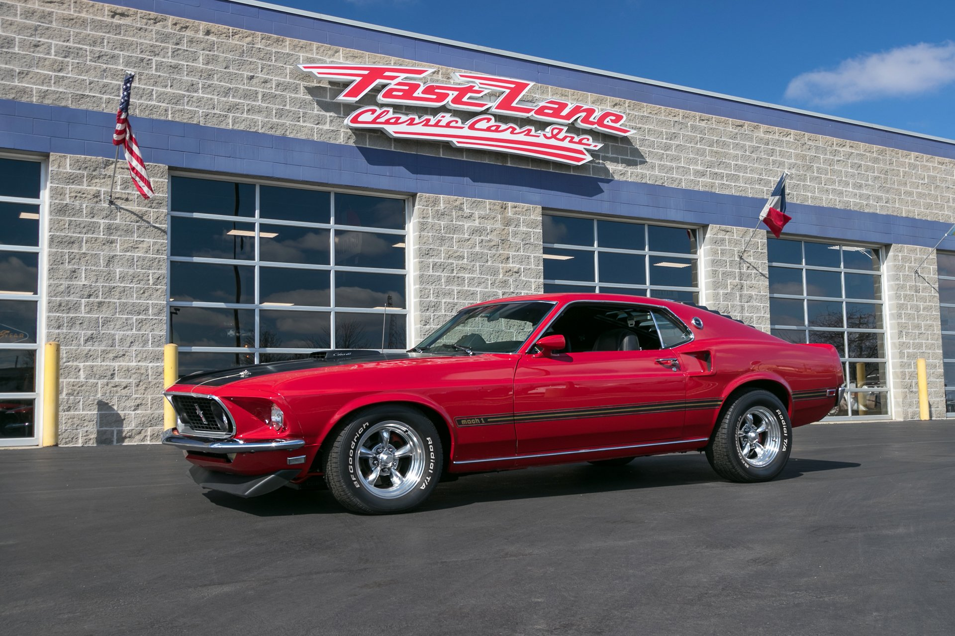1969 ford mustang mach 1 r code
