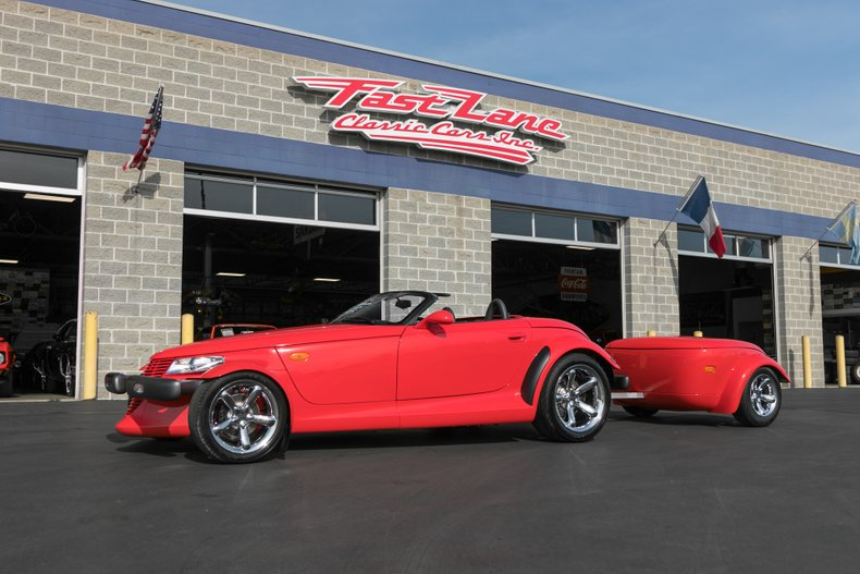 1999 plymouth prowler w trailer