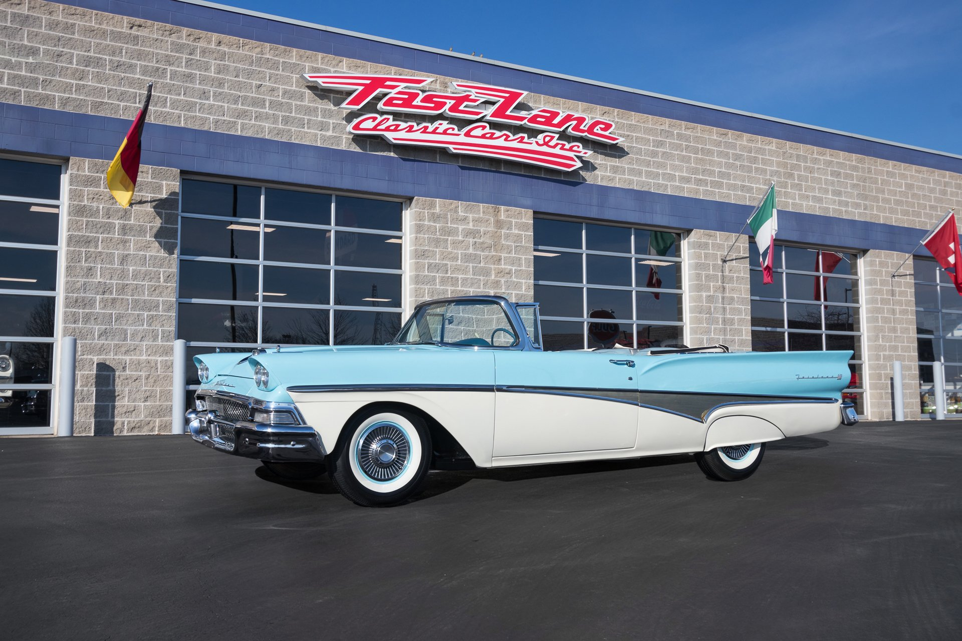 1958 Ford Fairlane Sunliner Fast Lane Classic Cars