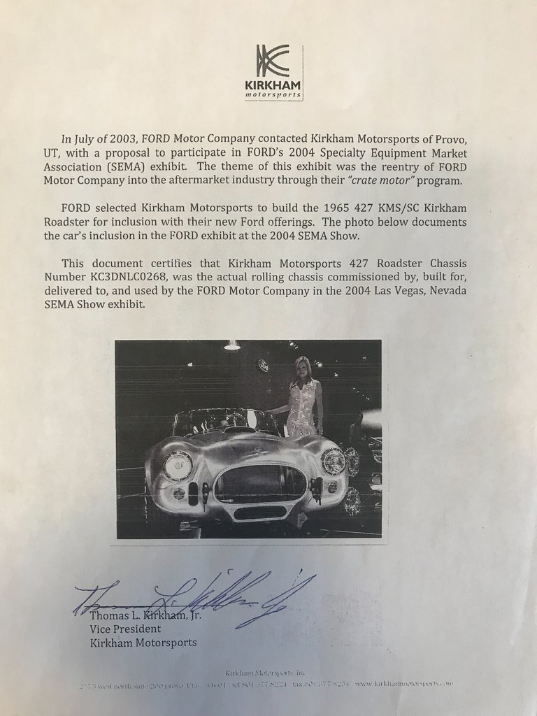 1965 Kirkham Cobra | Fast Lane Classic Cars