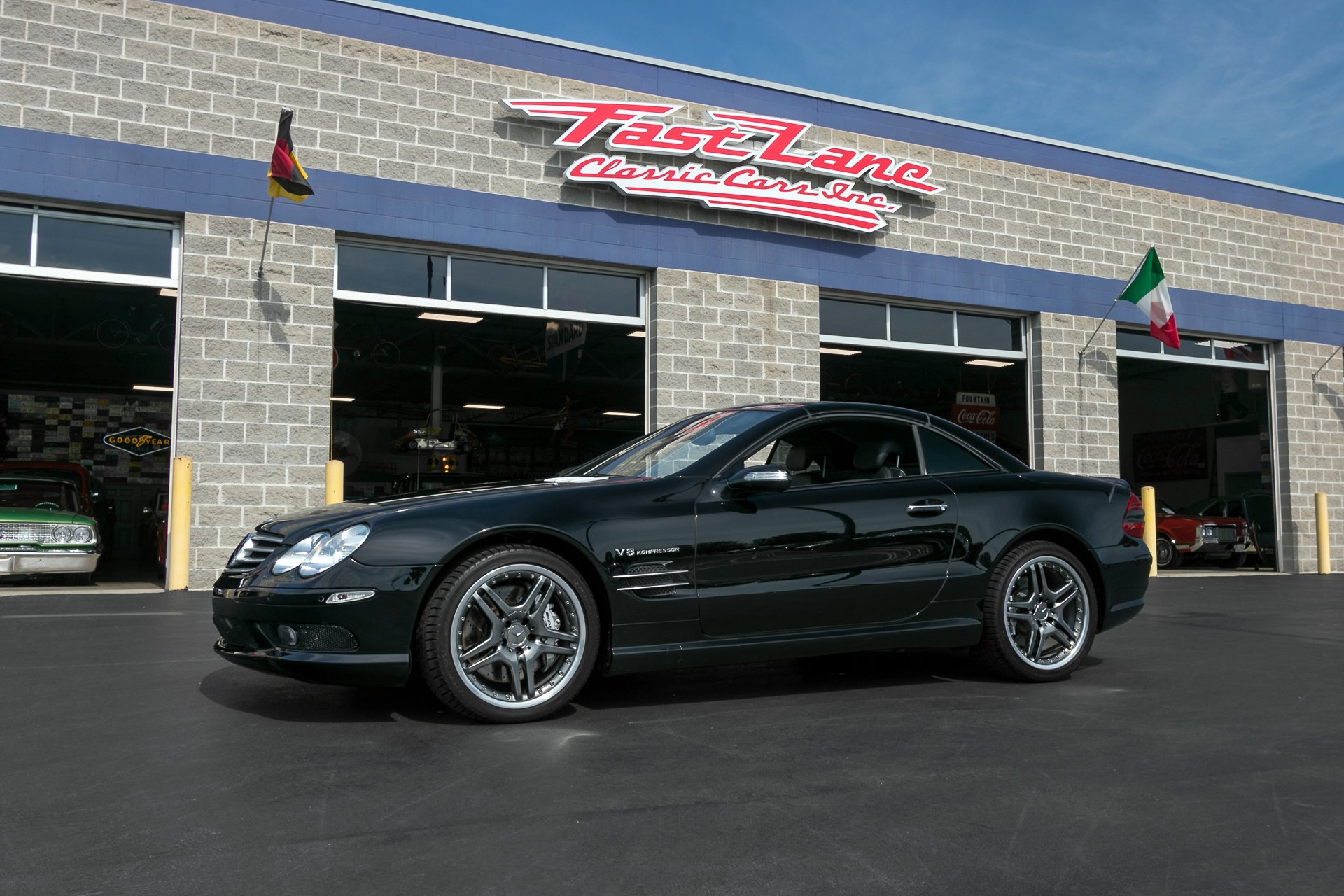 2005 mercedes benz sl55