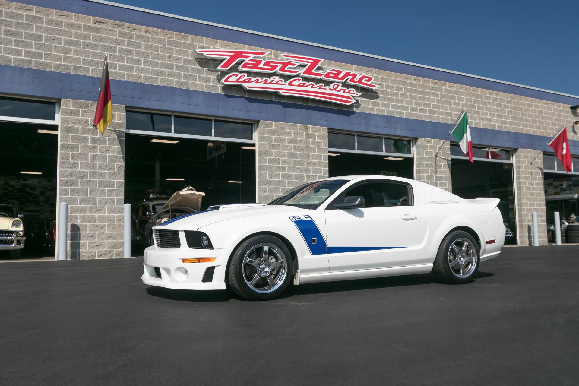 2008 ford mustang roush 428r