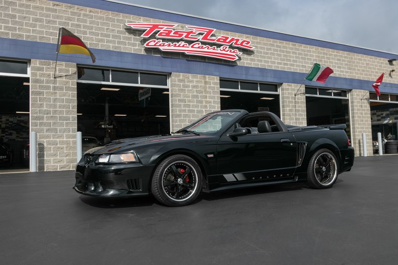 2004 ford mustang saleen s281sc for sale 102401 mcg. Black Bedroom Furniture Sets. Home Design Ideas