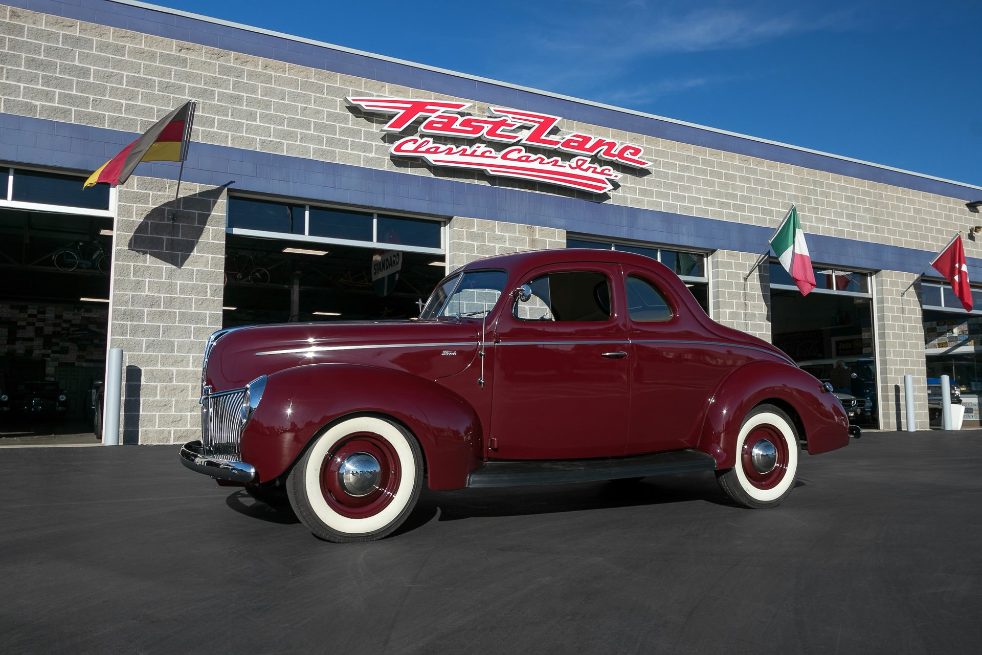 1940 Ford Coupe | Fast Lane Classic Cars