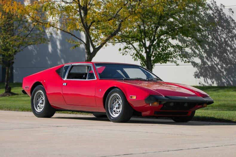 1973 De Tomaso Pantera