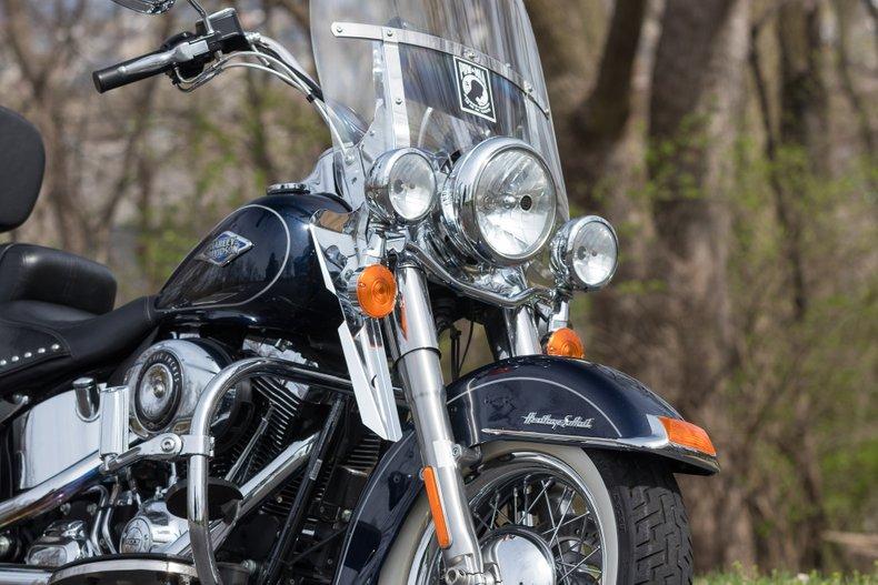 2013 Harley Davidson Heritage Softail