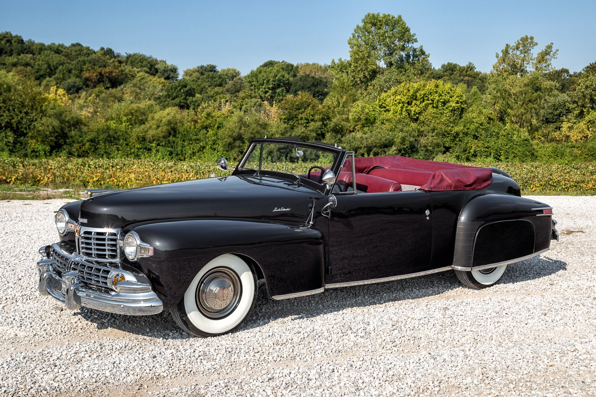 1947 lincoln continental h series