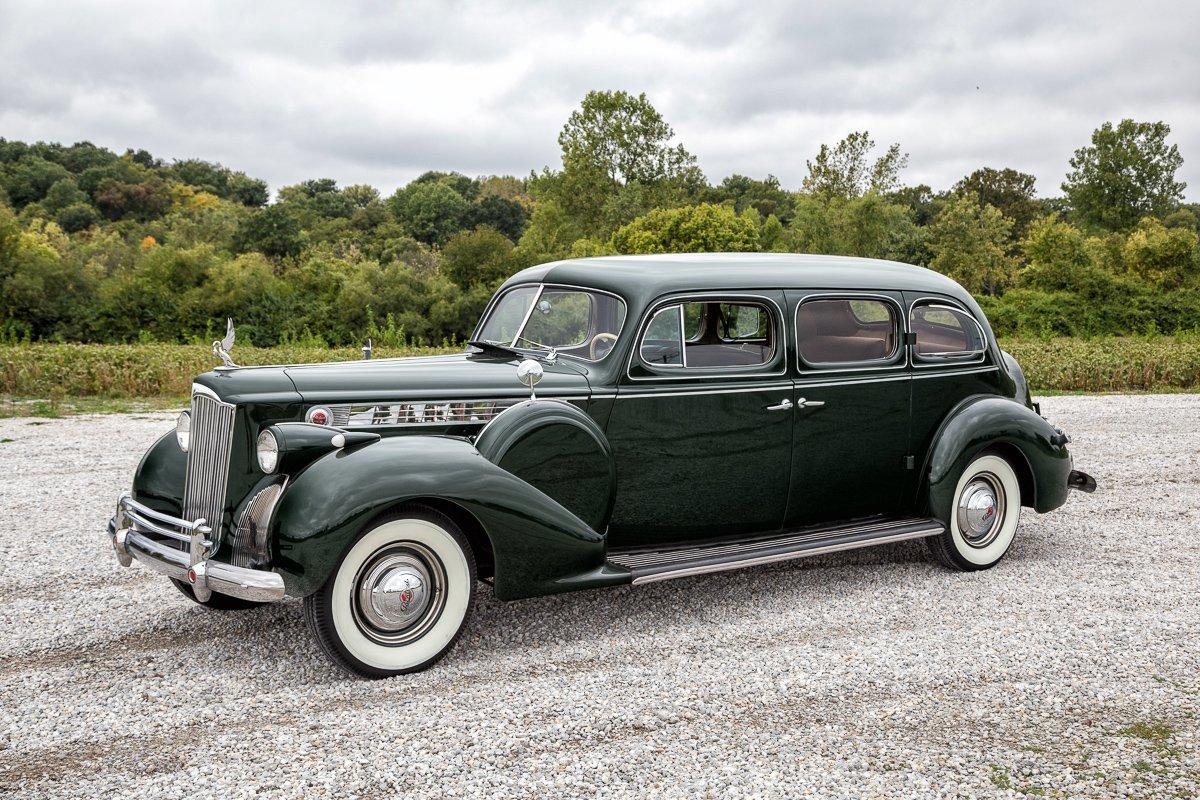 1940 packard super 8 limousine