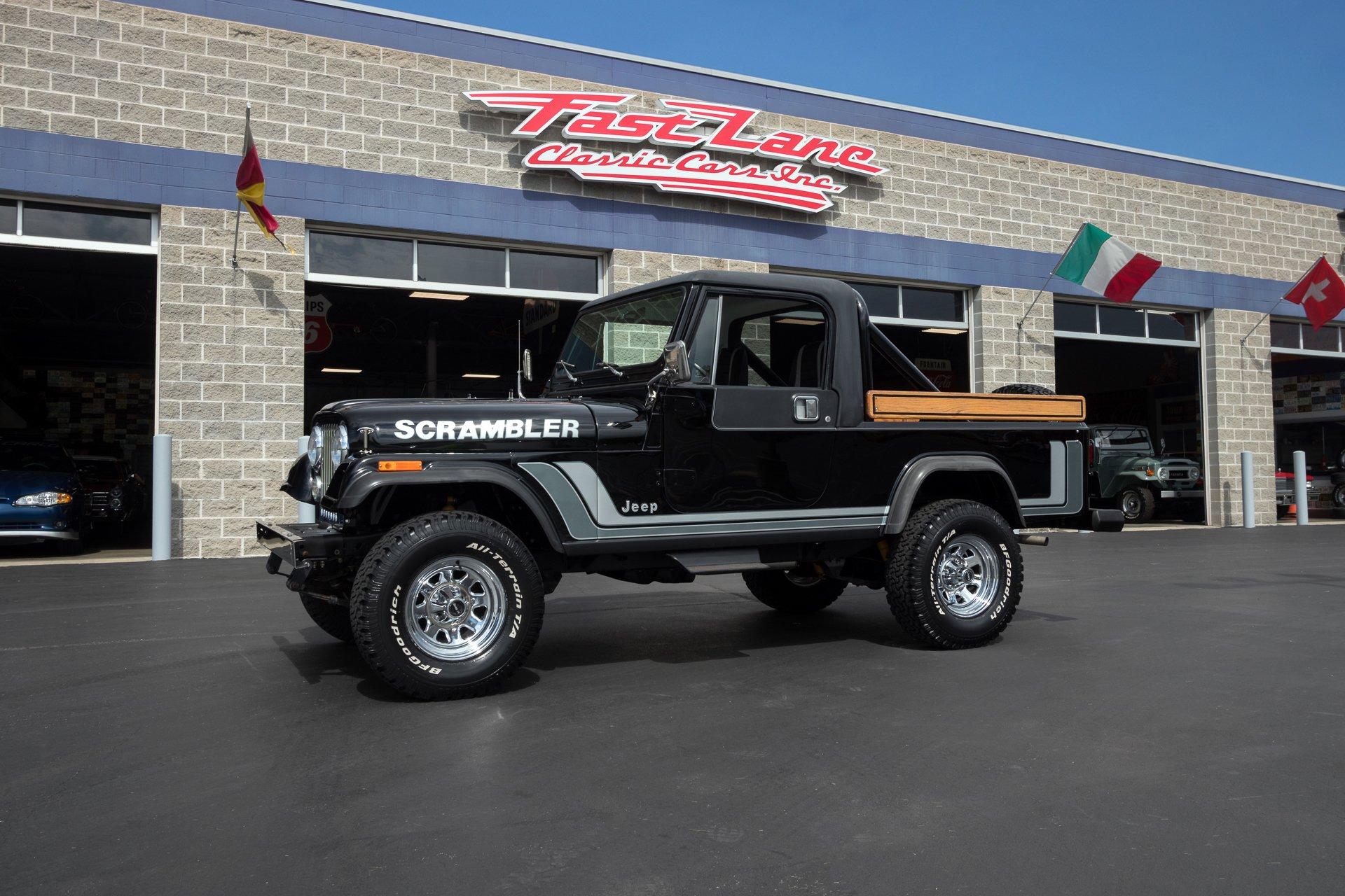 1982 Jeep Scrambler Fast Lane Classic Cars