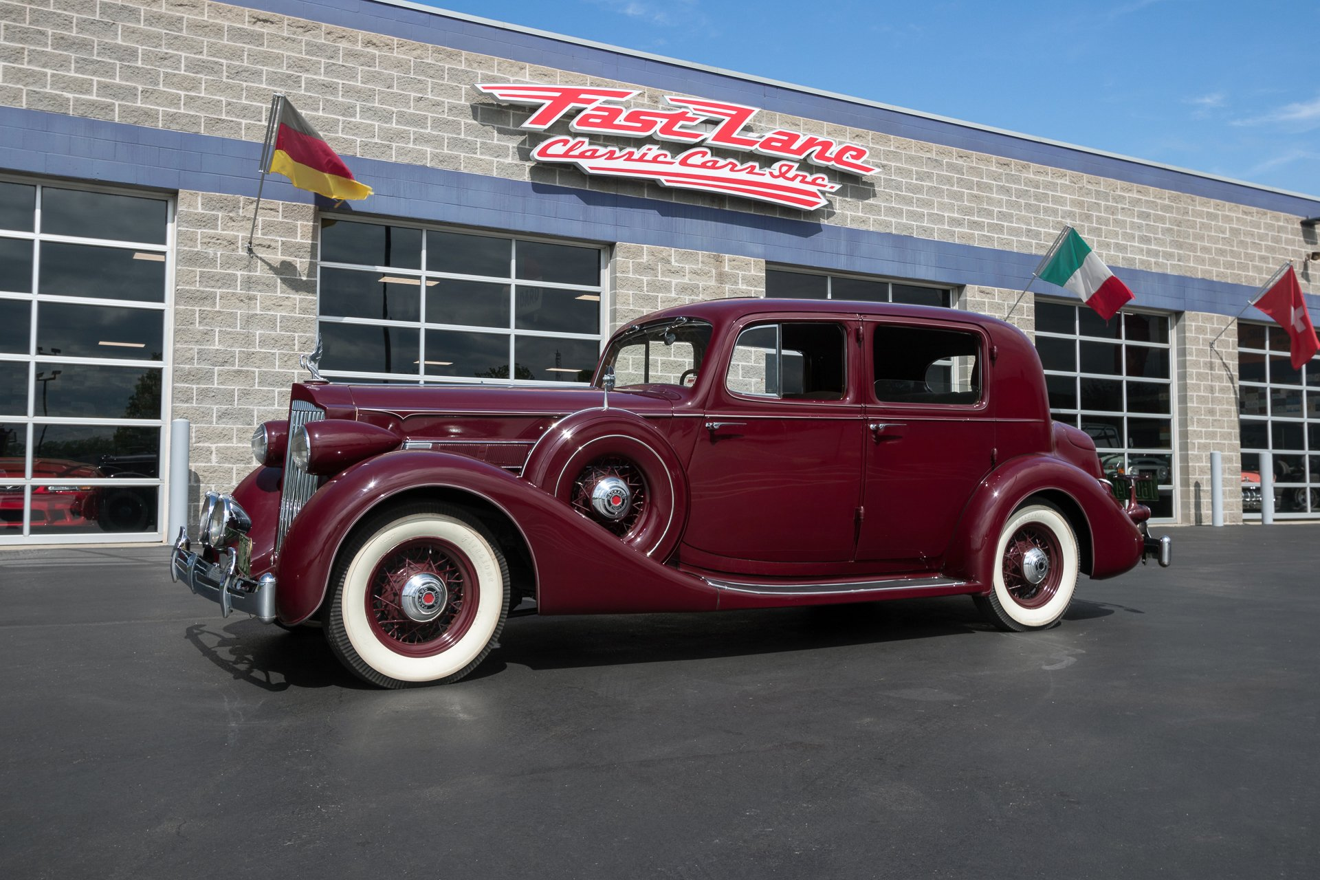 1935 packard eight club sedan