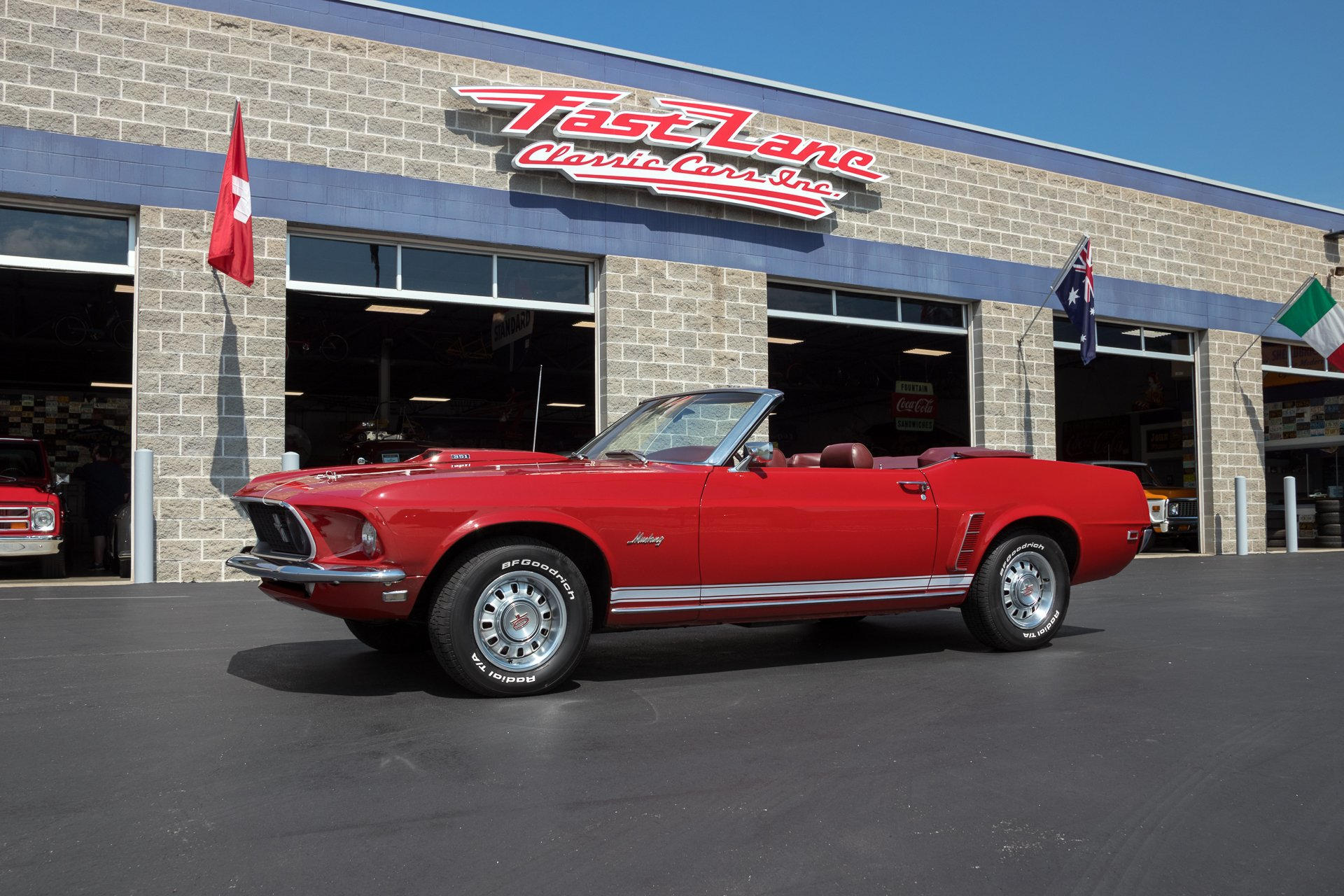 1969 ford mustang gt