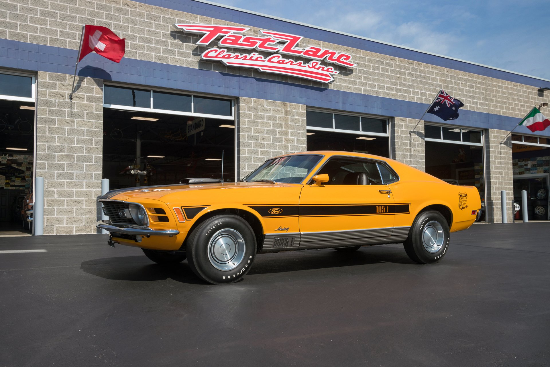 1970 ford mustang mach i twister special