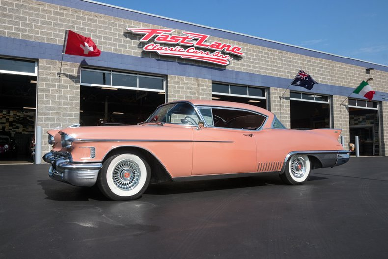 1958 Cadillac Eldorado For Sale