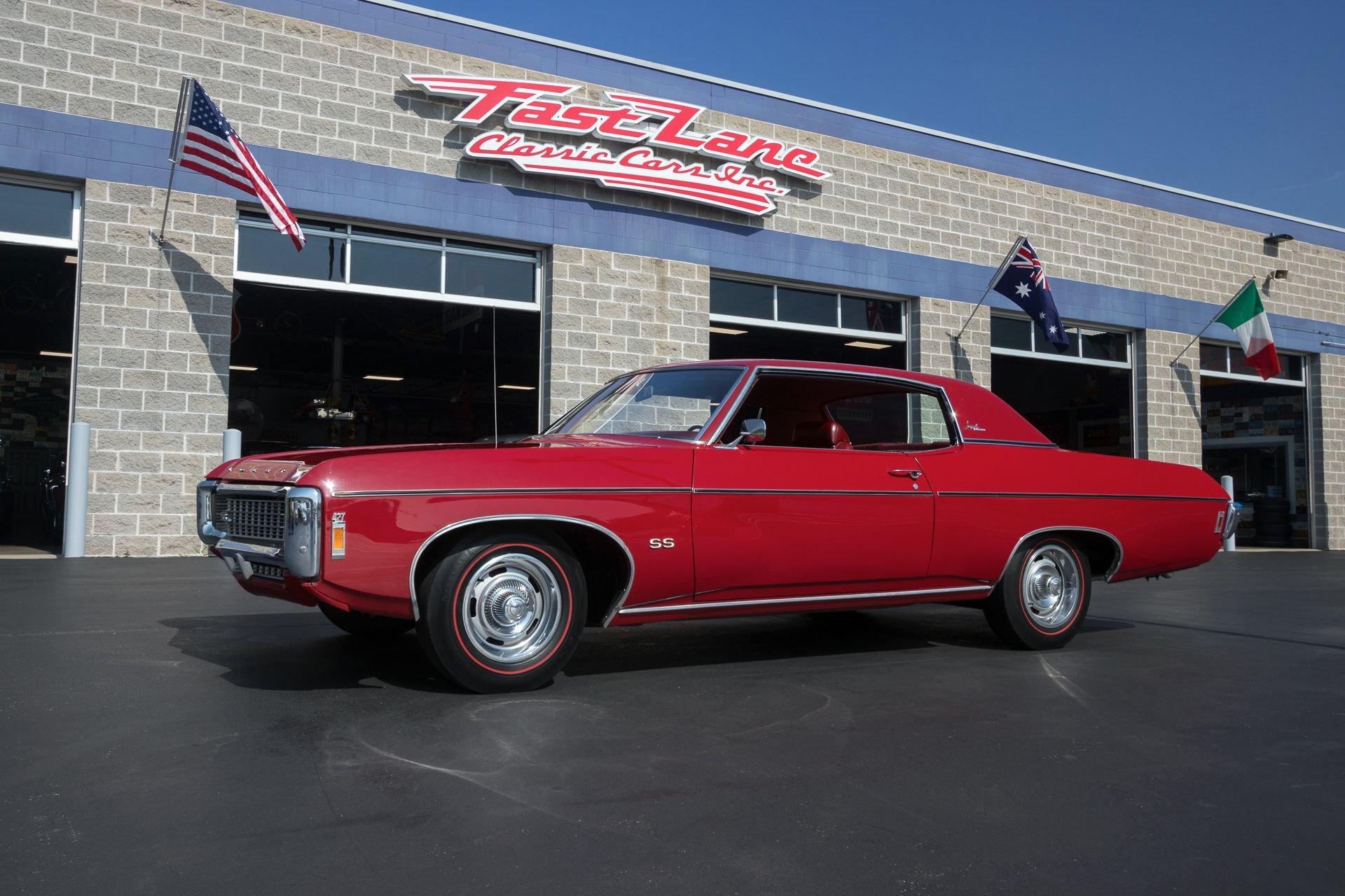 1969 chevrolet impala ss427