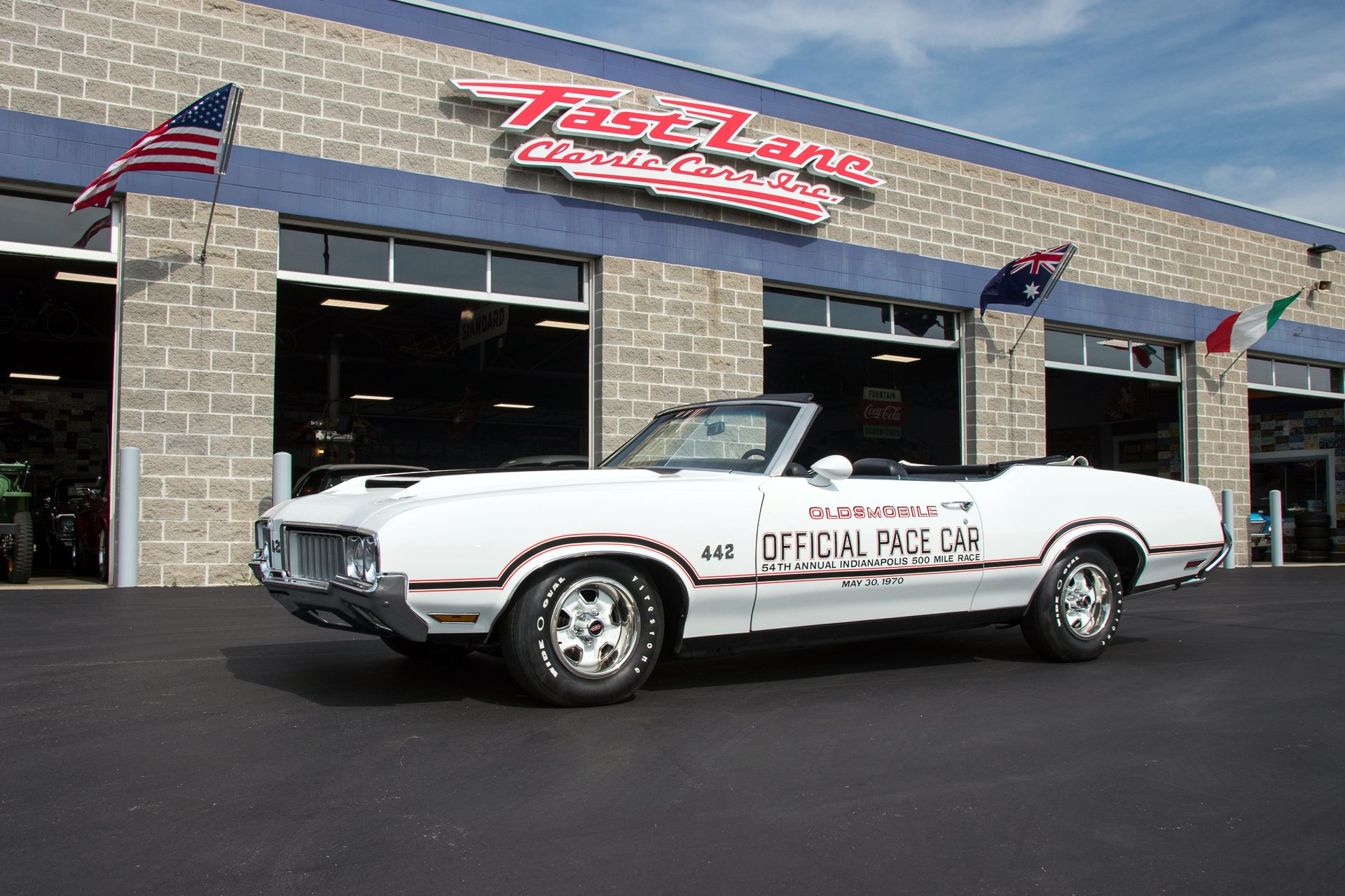 1970 oldsmobile 442 pace car