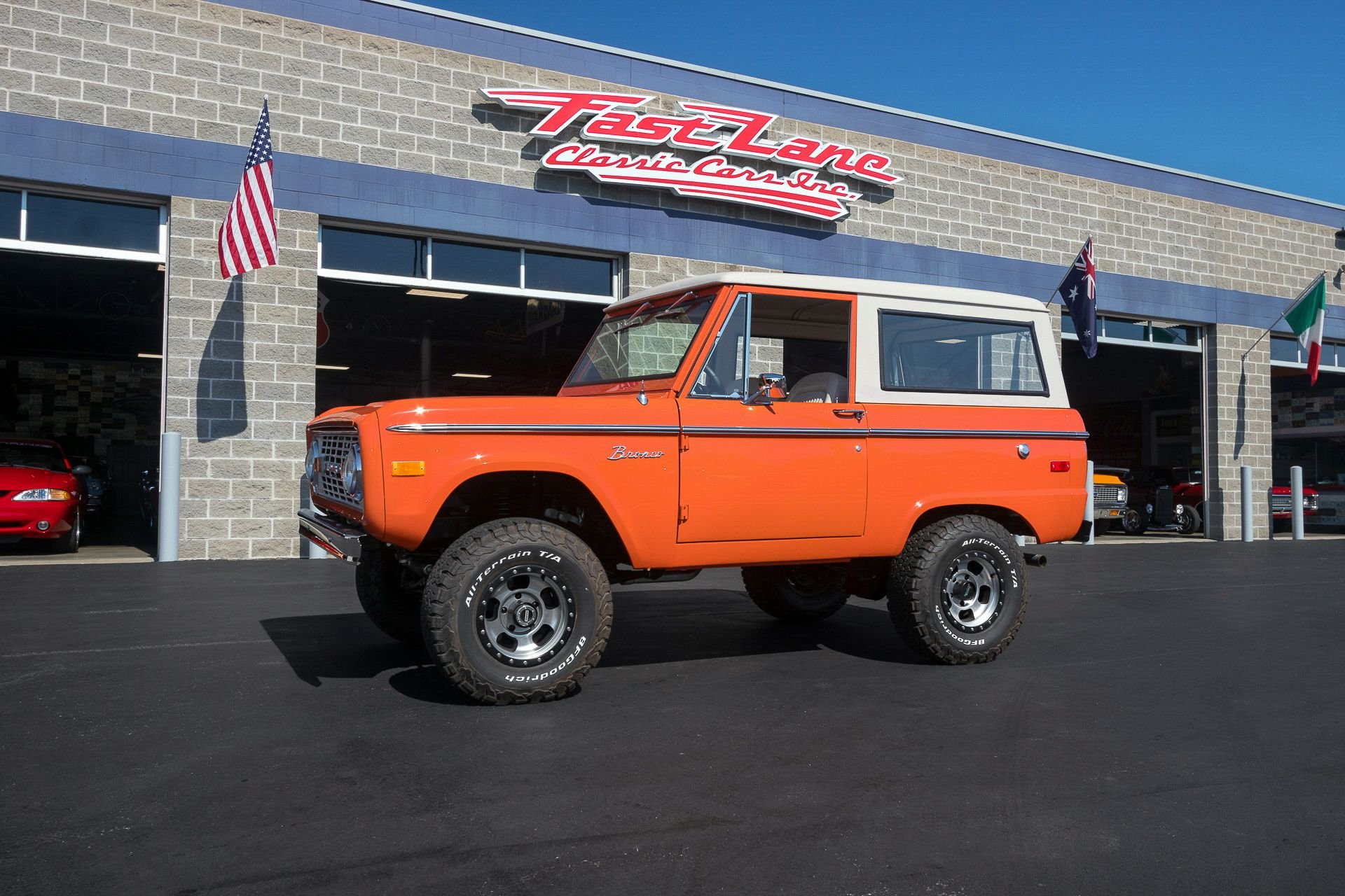 1970 Ford Bronco Fast Lane Classic Cars