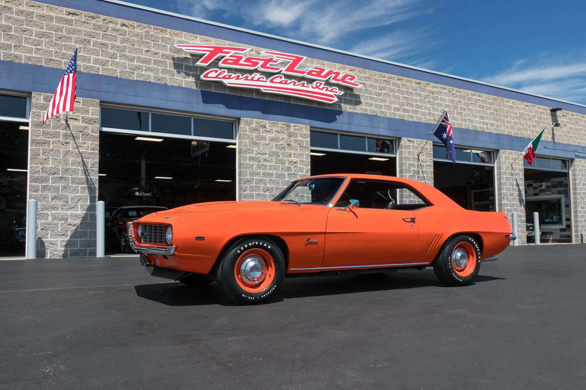 1969 chevrolet camaro copo recreation