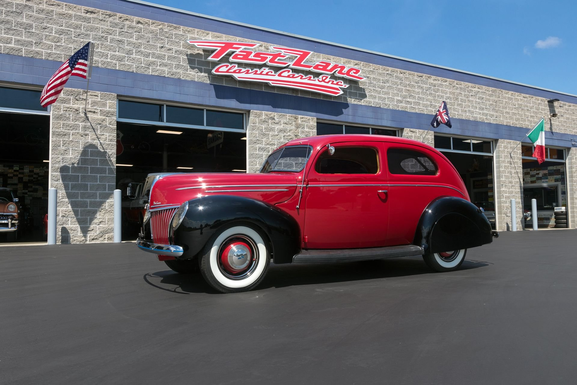 1939 ford tudor deluxe sedan