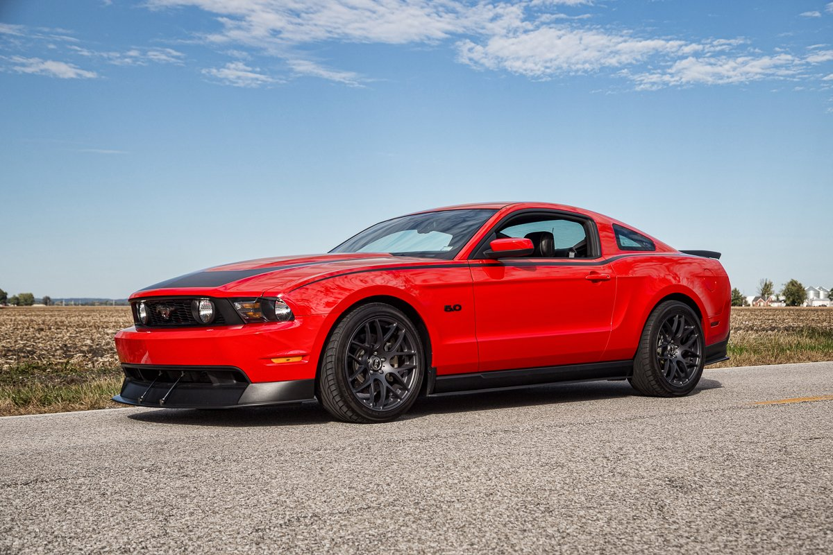 2012 ford mustang rtr