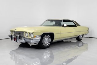 1972 Cadillac Coupe DeVille