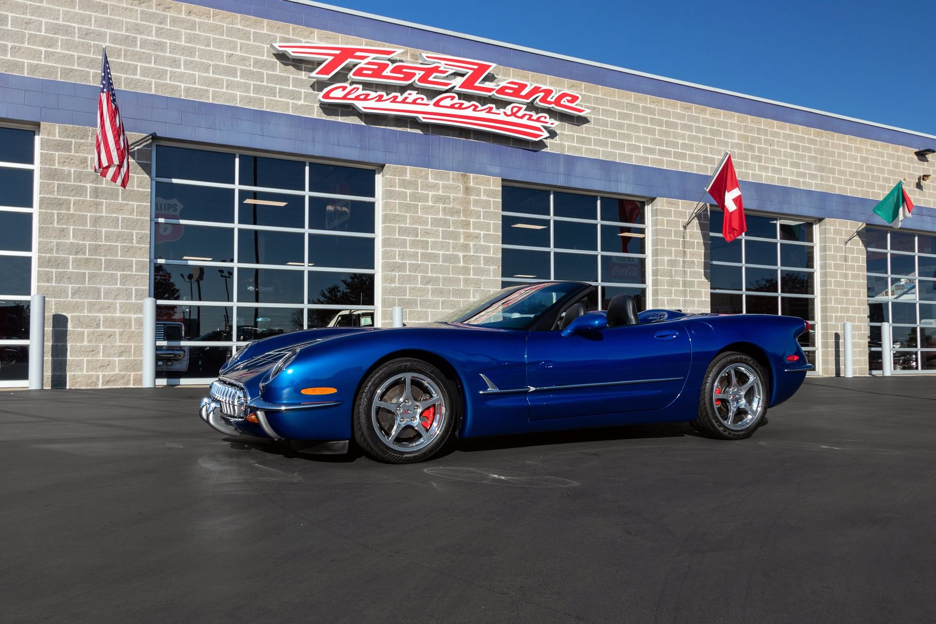 2002 chevrolet corvette commemorative edition