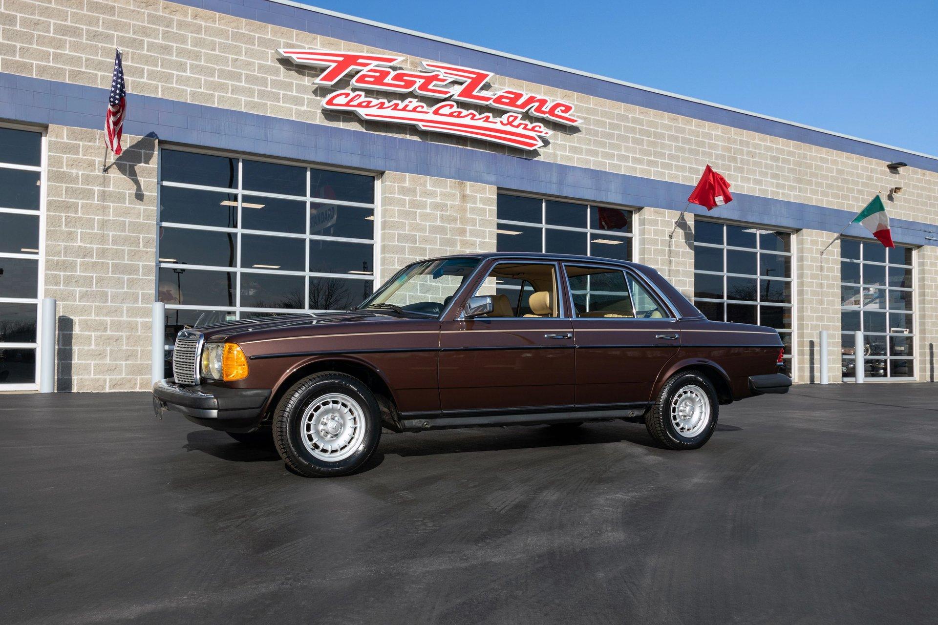 1984 mercedes benz 300 d