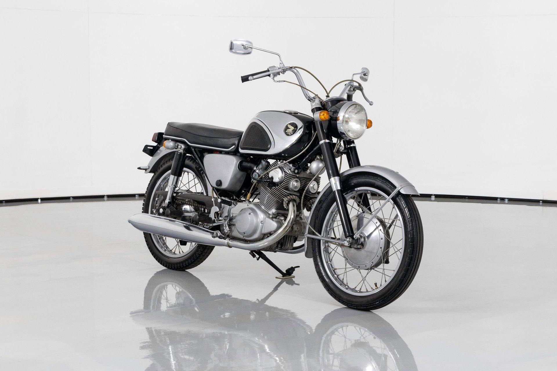 1965 honda superhawk cp77