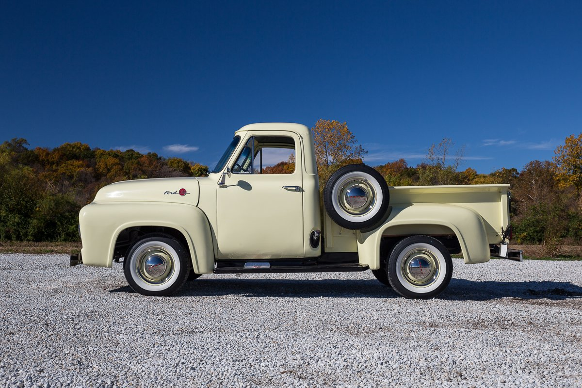 1955 Ford F100 Fast Lane Classic Cars Pickup Truck For Sale
