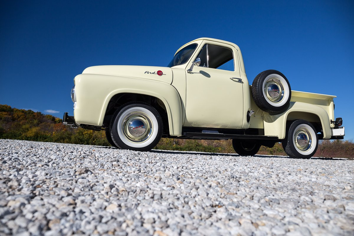 1955 Ford F100 Fast Lane Classic Cars Wide Bed
