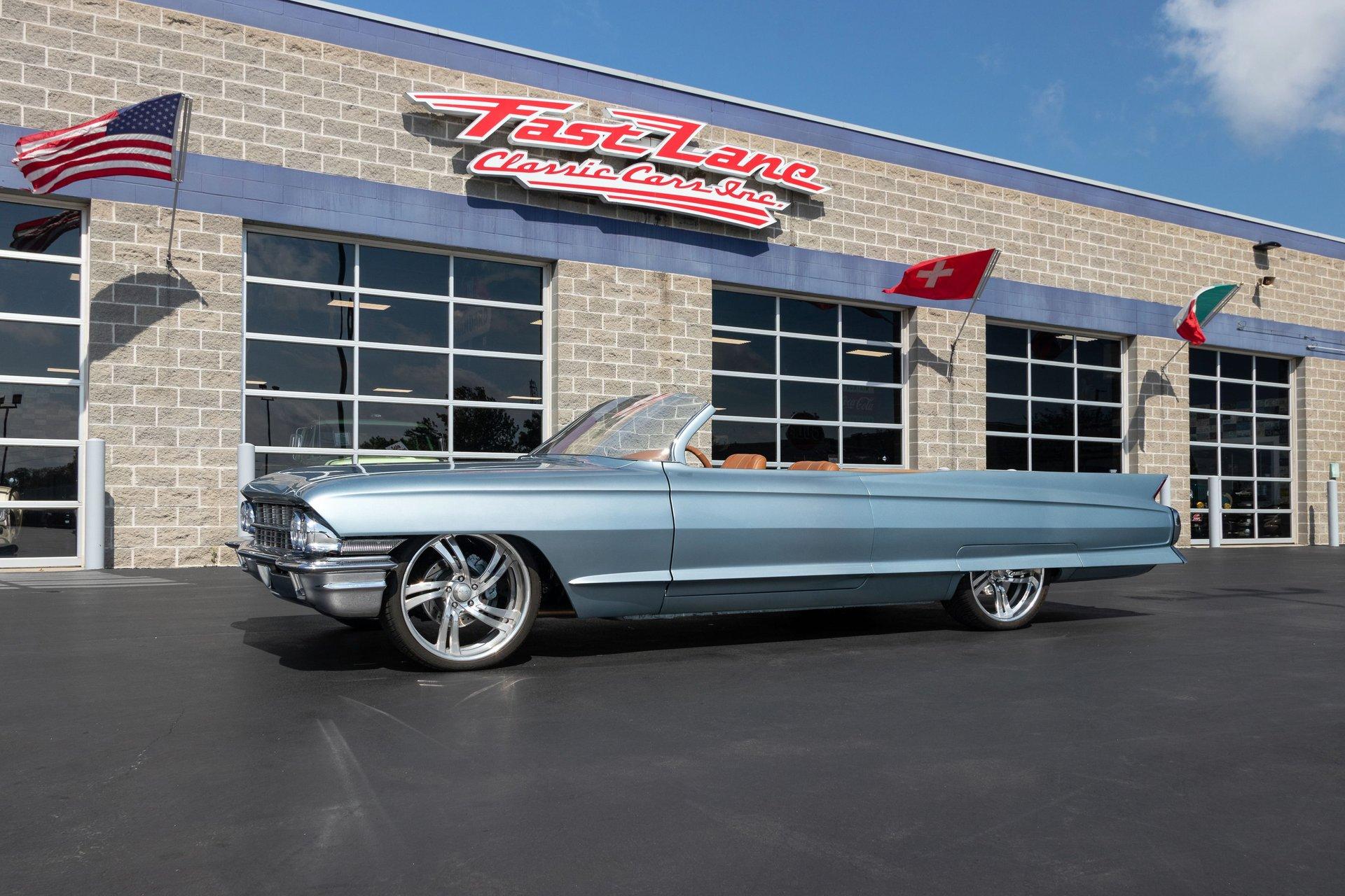 1962 cadillac series 62 custom roadster