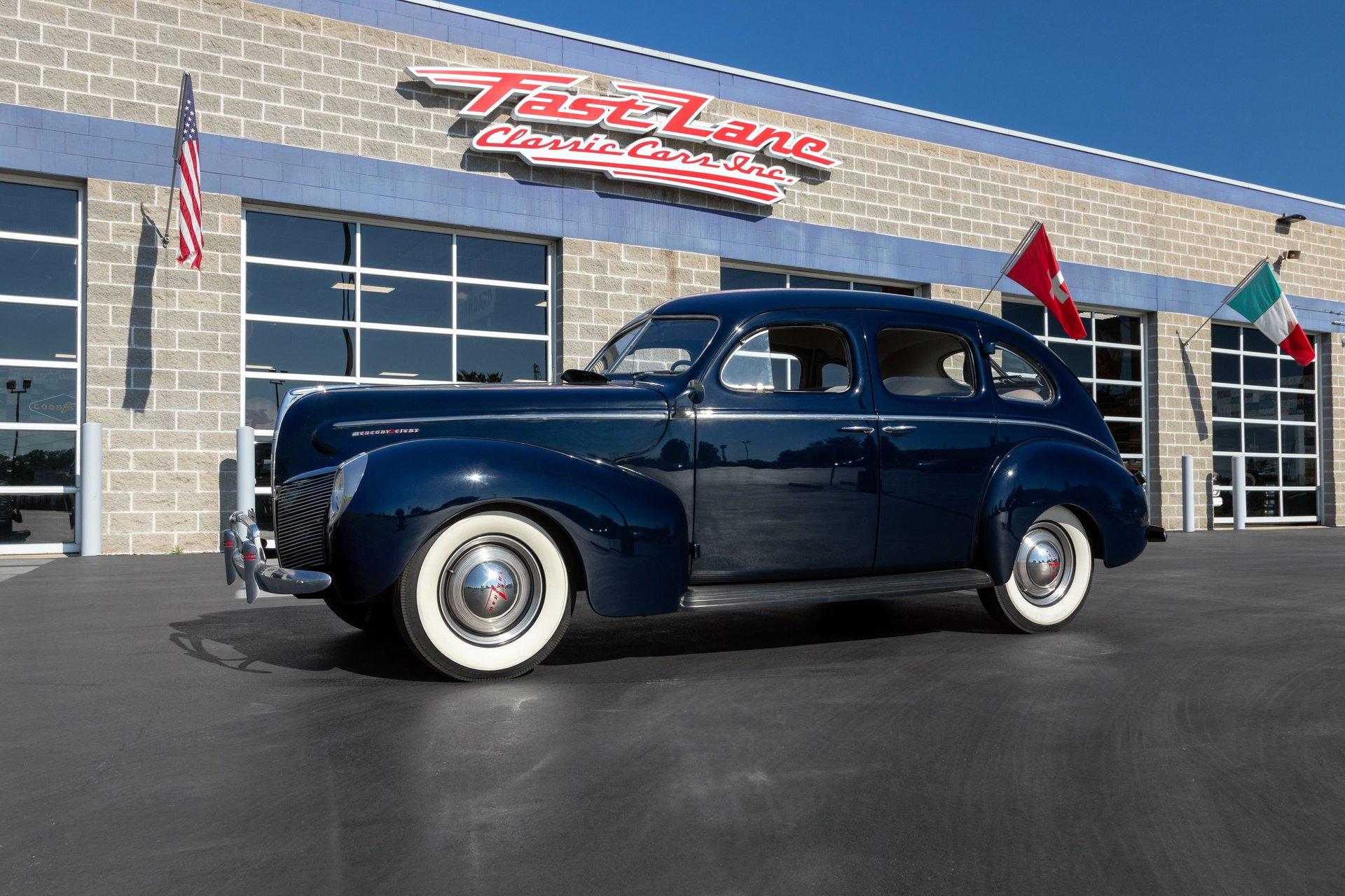 1940 mercury eight sedan