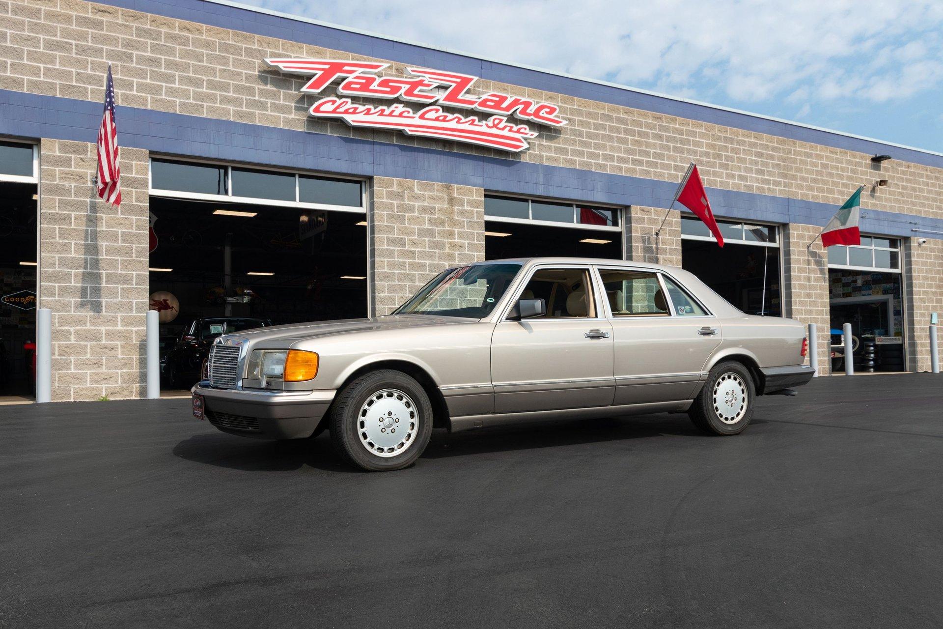 1991 mercedes benz 560sel