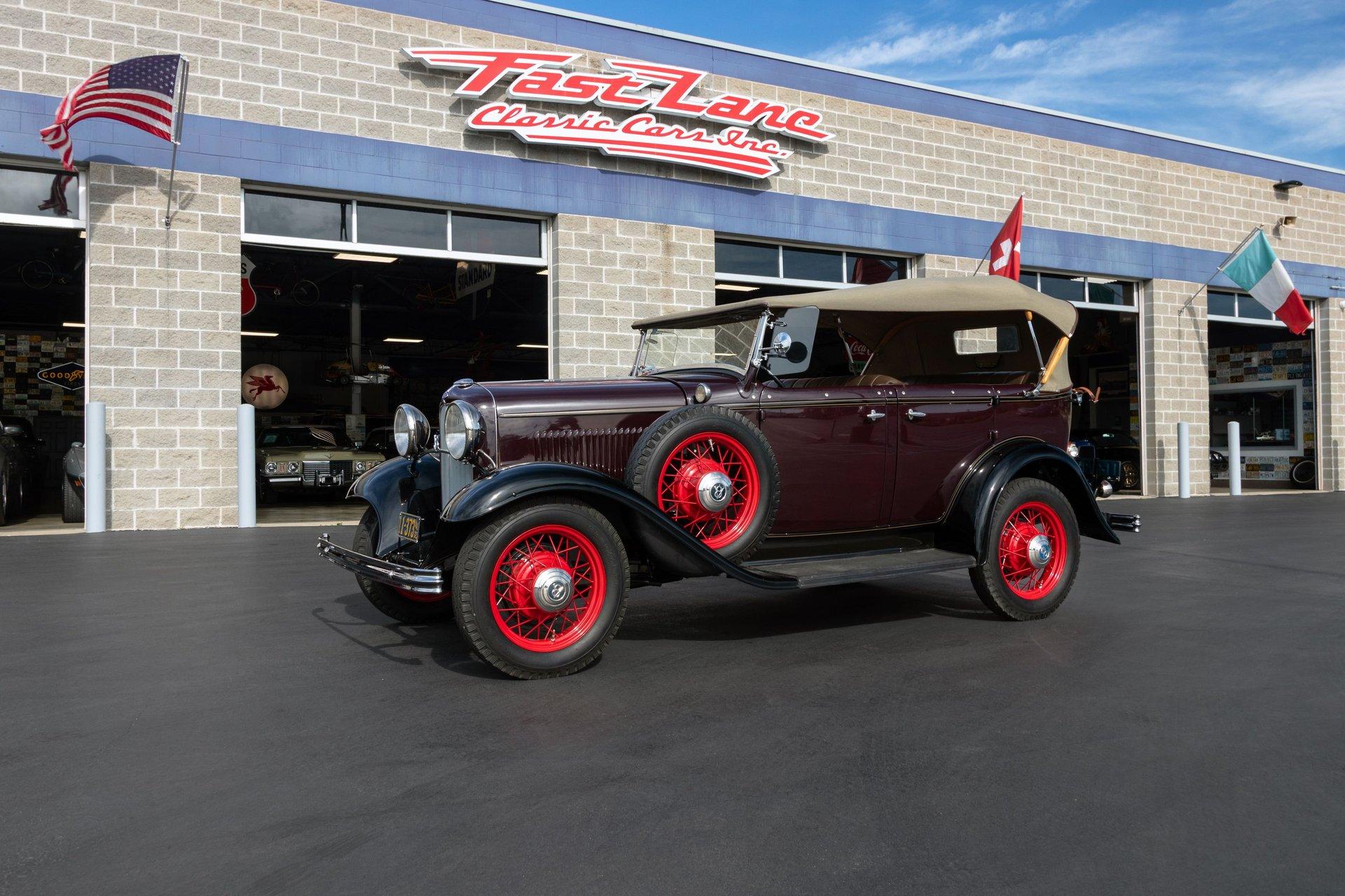 1932 ford phaeton
