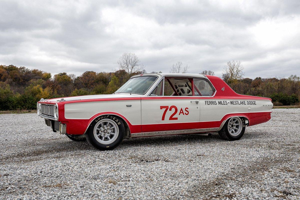 1966 dodge d dart factory lightweight race car