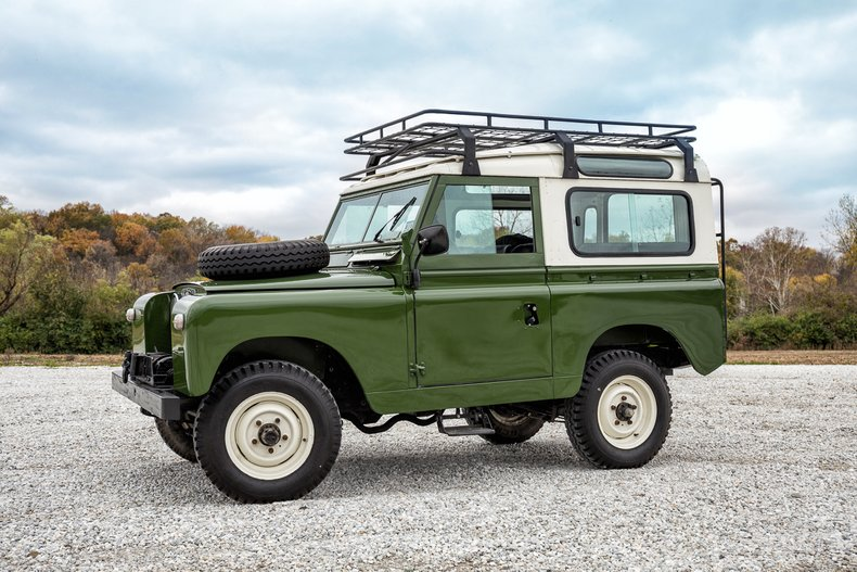 1963 Land Rover Santana Series