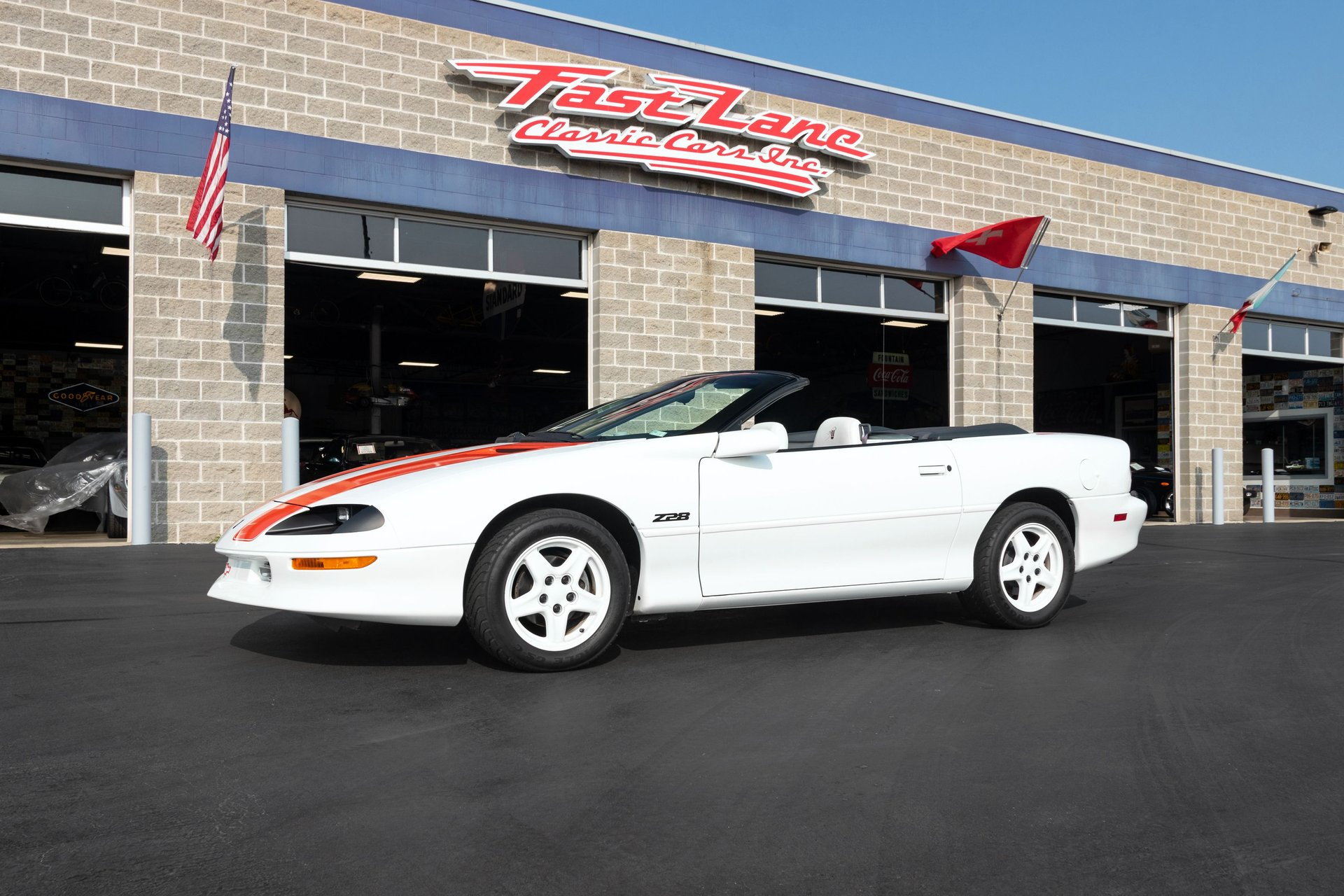 1997 chevrolet camaro z 28 30th anniversary