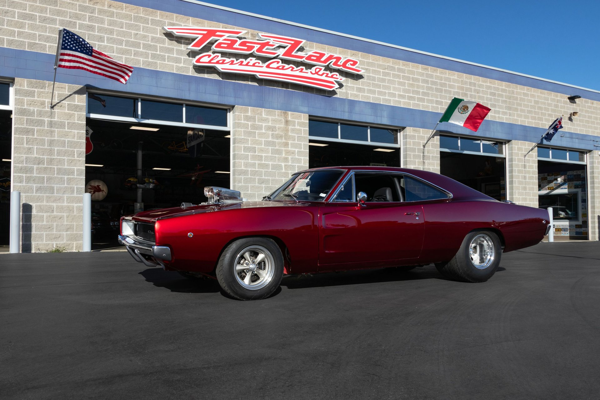 1968 dodge charger rt pro street