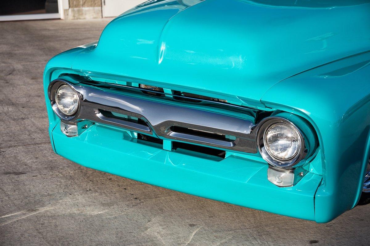 1955 Ford F100 Fast Lane Classic Cars Hood