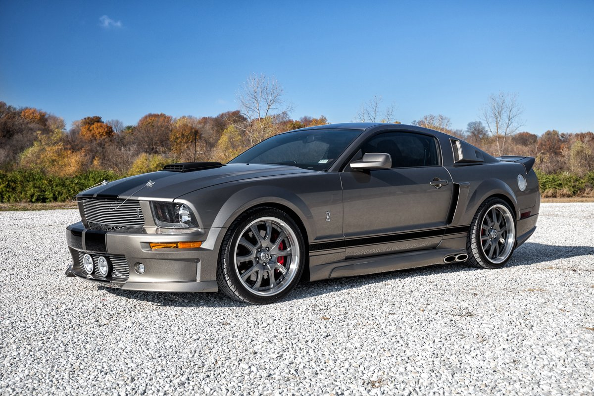 2005 ford mustang eleanor tribute