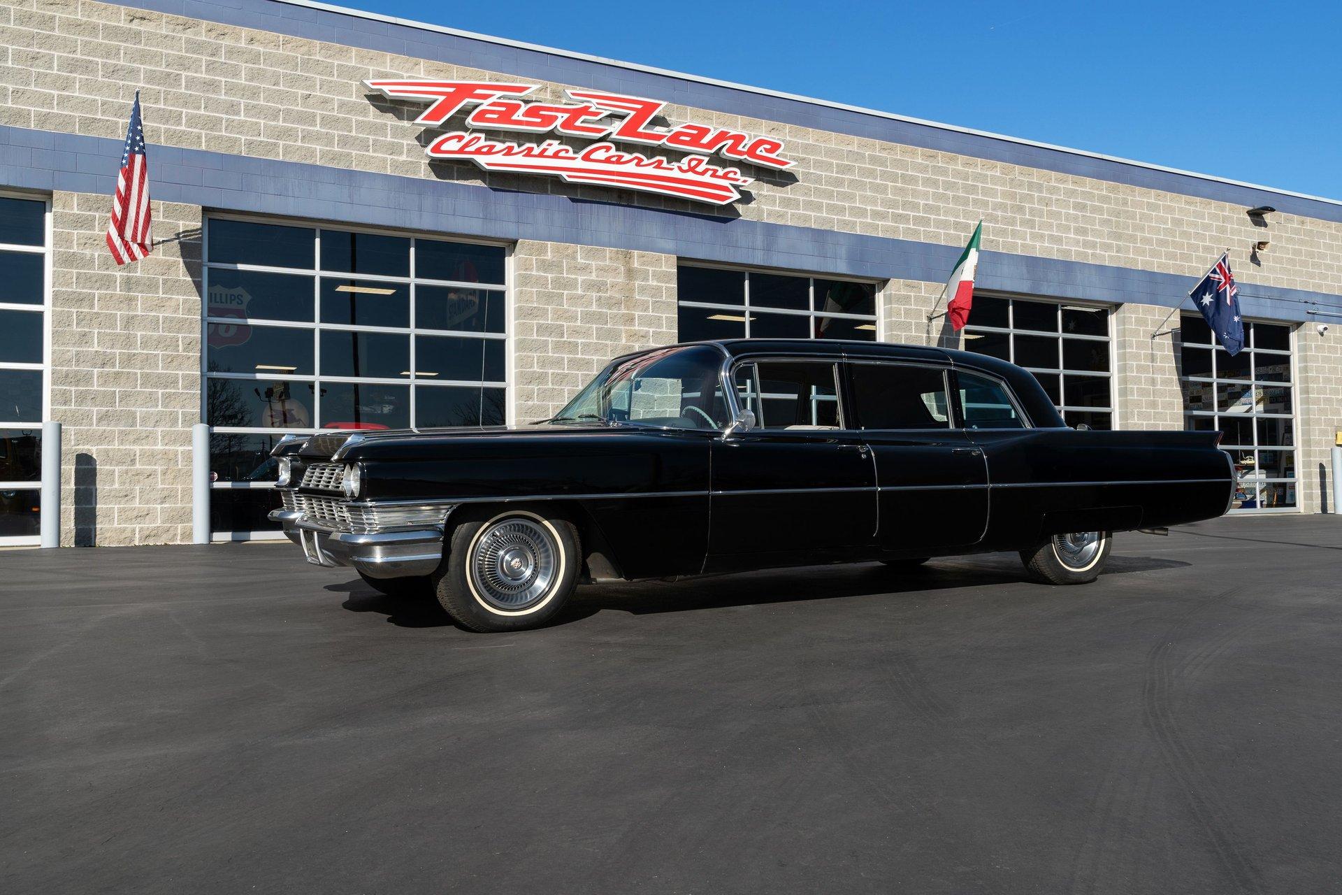 1964 cadillac series 75 limousine