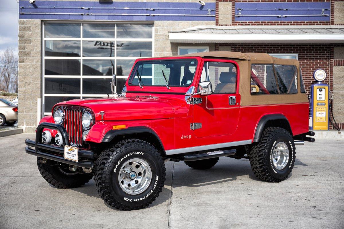 1985 jeep cj 8